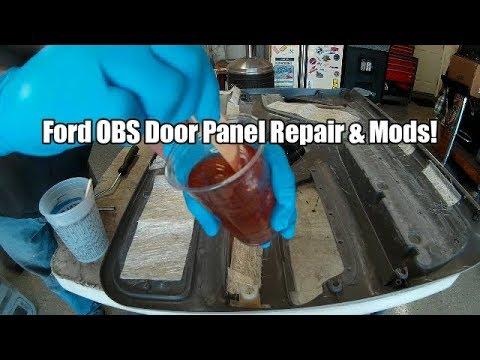 Ford Obs 73 Door Panel Repair Interior Mods Part 1 Youtube