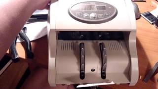 Счетчик купюр PRO-40 NEO, ошибка E6(На видео принцип работы купюросчетчика после ремонта нижней оптопары (были сбиты настройки сигнала)., 2016-06-24T16:08:30.000Z)