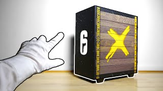 Rainbow Six Siege Custom PC Unboxing - Building a Gaming PC