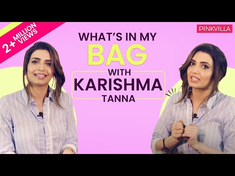 What's in my bag with Karishma Tanna | S01E10 | Pinkvilla | Bollywood | Lifestyle