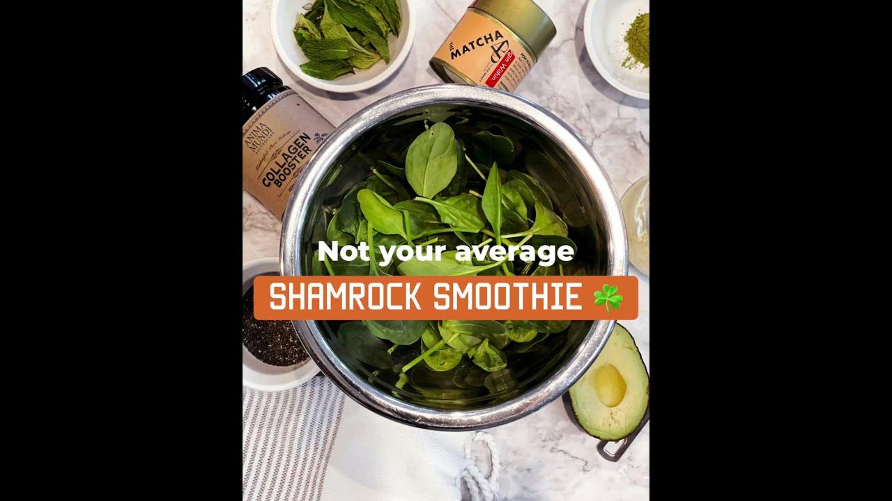 Shamrock Smoothie Recipe