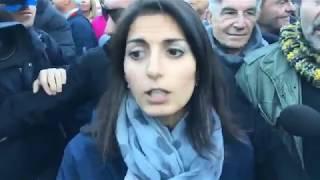 Virginia Raggi (M5S) OSTIA: Uniti per la legalità #FuoriLaMafiaDaRoma