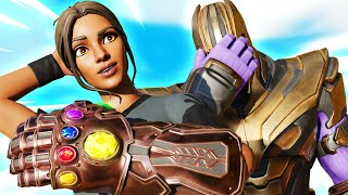 Destroying Our First Thanos Cup Lobby! (w/ Nosh)   Bugha