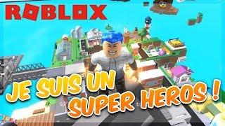 ROBLOX'S SUPER HEROES! - Super Heros City