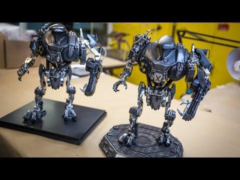 Robocop 2 Cain Stop-Motion Puppet Replica