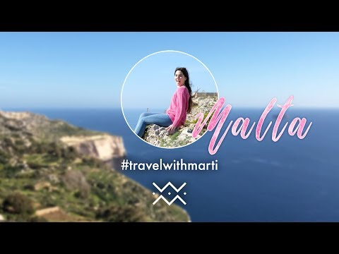 VLOG : A WEEKEND IN MALTA | #travelwithmarti