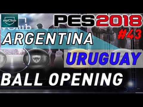 Ball Opening Argentina - Uruguay #43