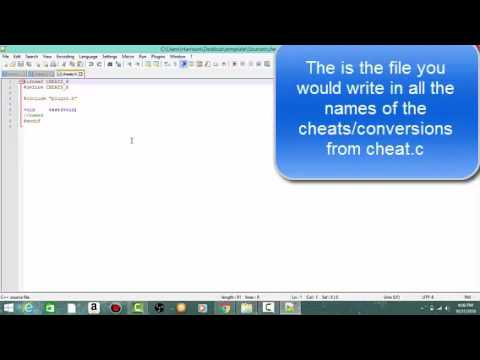 How To Make NTR Cheat Plugins for Gateshark Codes - - vimore org