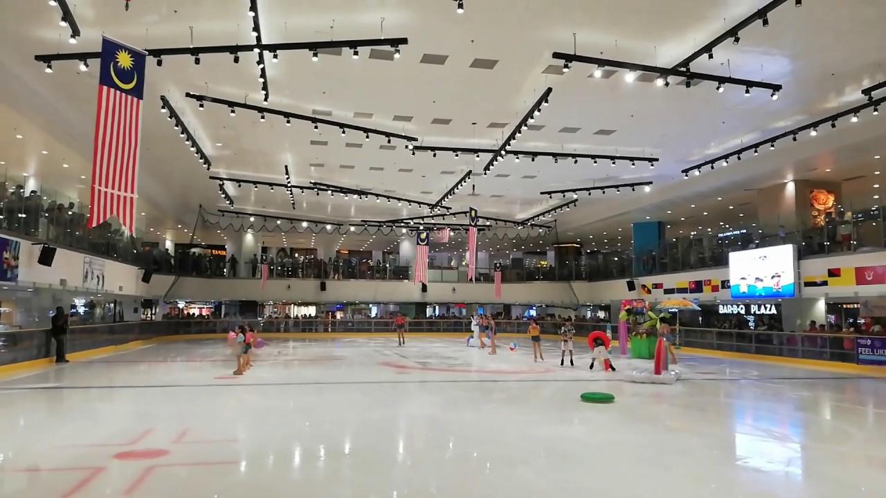 Ice Skating Paradigm Mall Johor Bahru 31st August 2019