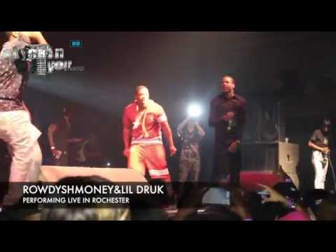 Rowdy Rebel & Lil Durk - Performing Live in Rochester, NY