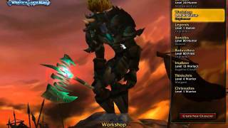 Hello this is me in World of Warcraft