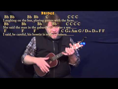 America (Simon & Garfunkel) Ukulele Cover Lesson in C with Chords/Lyrics