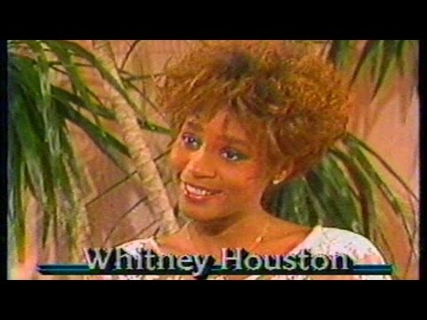 Whitney Houston Rare 1986 Interview with Ron Reagan