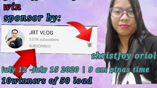 My 22nd  LS come and join get your raffle entry sponsor by:JBT VLOG