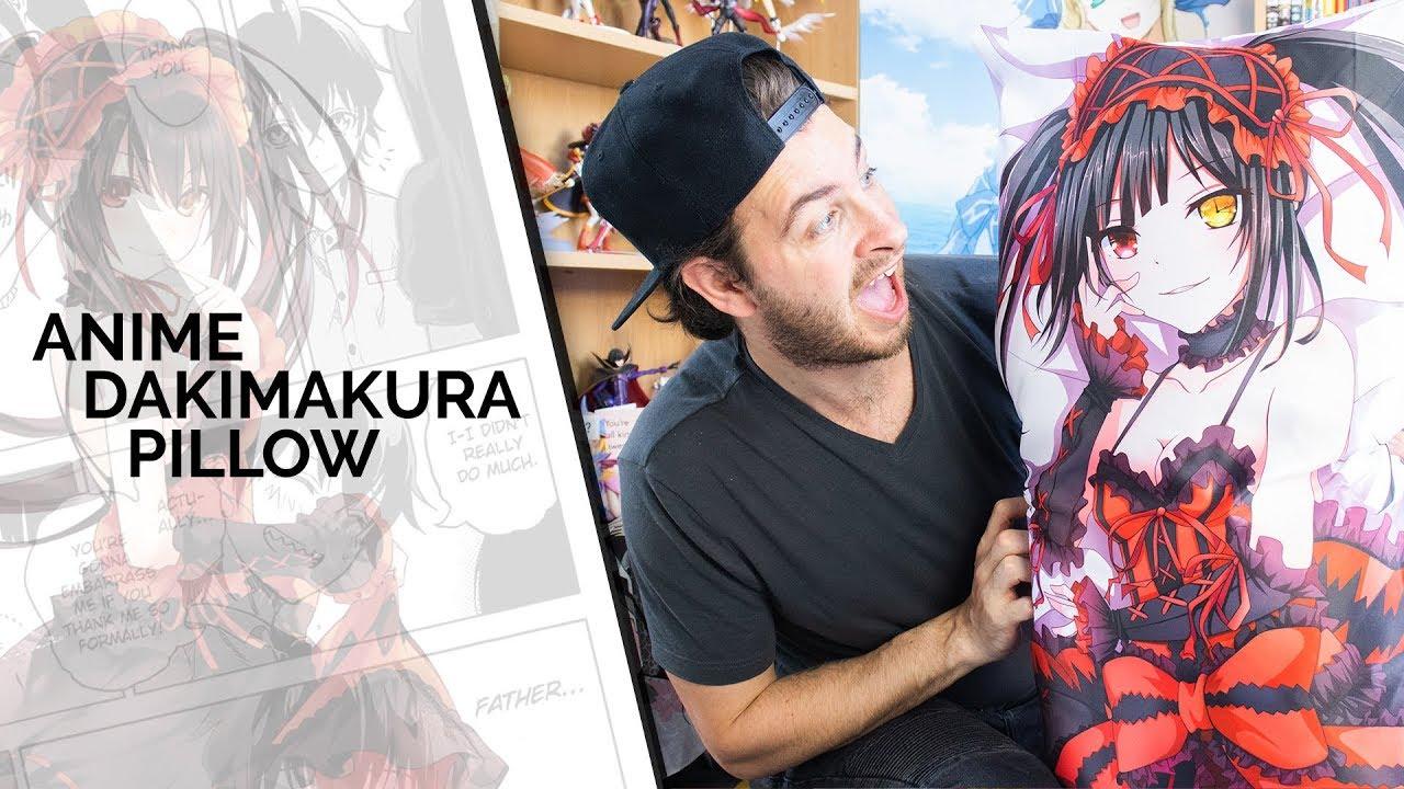 Date A Live 2017 Dakimakura Kurumi Tokisaki Anime Hugging Body Pillow Case Cover