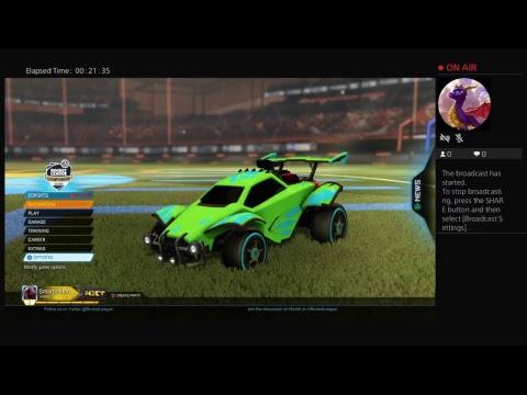 Rocket League - Nothing to Something #1  Part 3 [Sub Goal: 134 / 136 ]