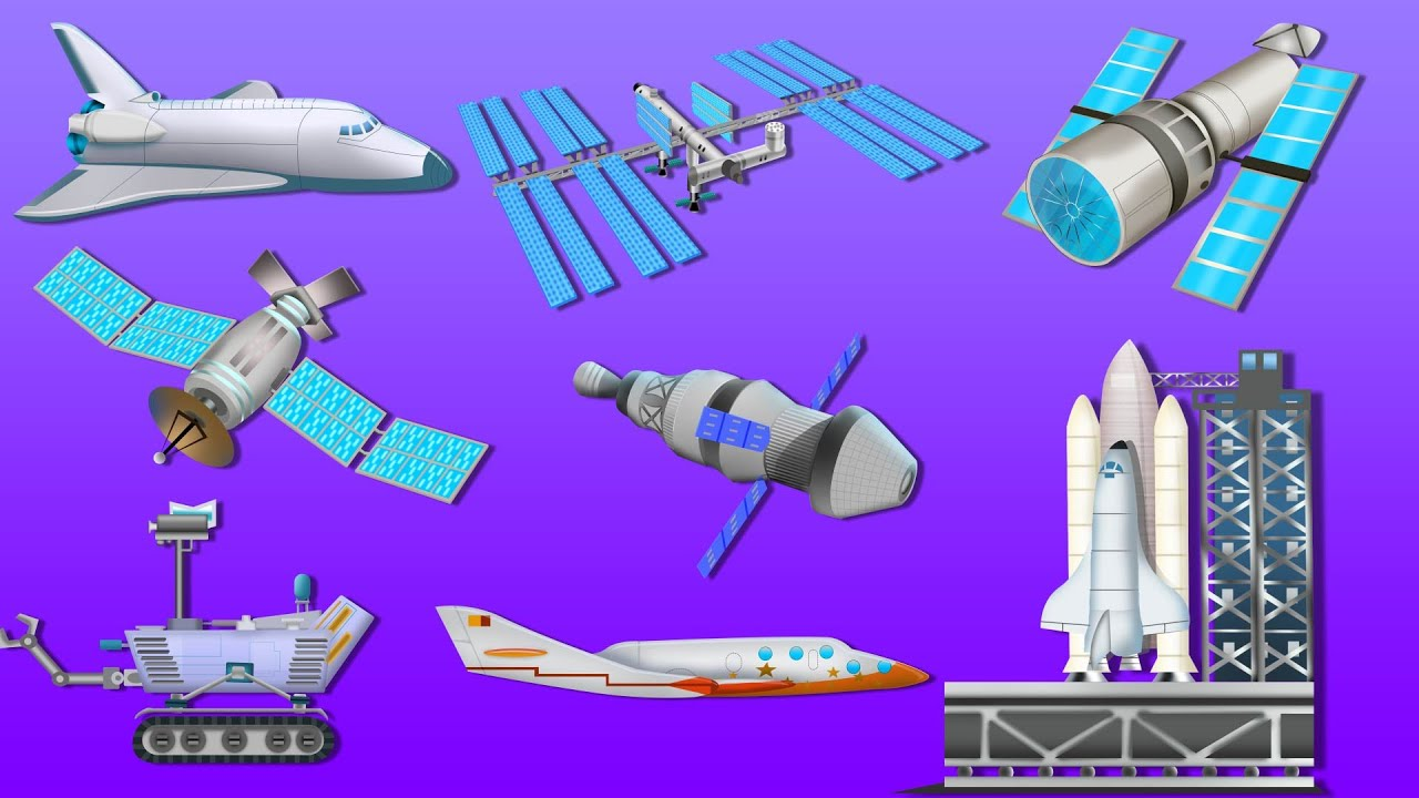Space Vehicles | Outer Space | UFO | Astronauts | Kids ...