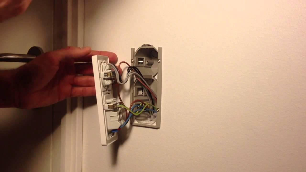 lysdæmper til ledning jem og fix