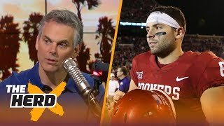 Colin Cowherd can't get over one thing about Baker Mayfield | THE HERD
