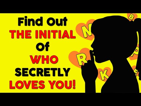 Discover WHO IS SECRETLY IN LOVE WITH YOU - This Game Reveals The First Letter of His / Her Name