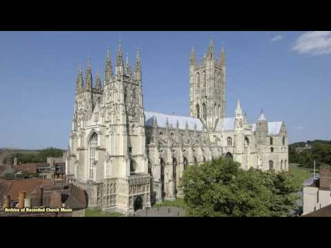 BBC Choral Evensong: Canterbury Cathedral 1977 (Allan Wicks)