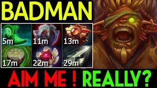 Badman Dota 2 [Bristleback] Aim me! Really? | Full Defense Build