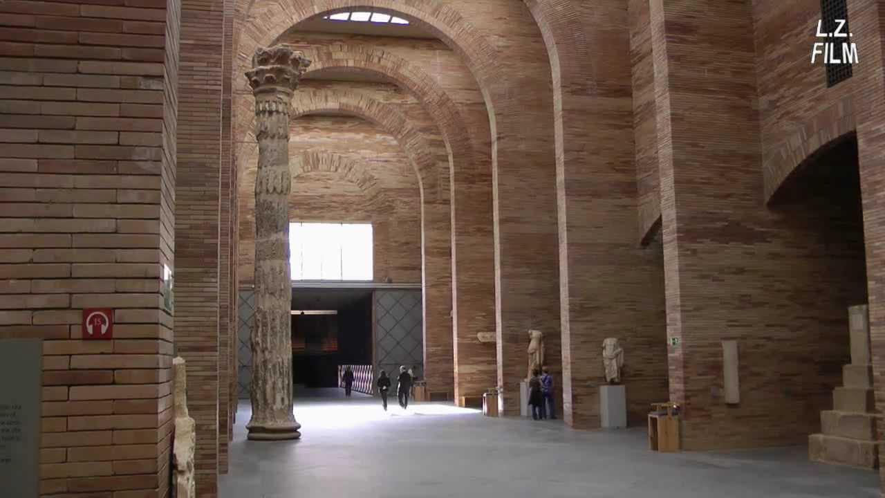 Mérida: Museo nacional de arte romano (Rafael Moneo) - YouTube