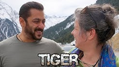 Salman Khan Shares Smiles With Austrian Service Producer Ursula Keplinger !