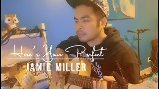 Here's Your Perfect - Jamie Miller | Acoustic Cover (with Lyrics)