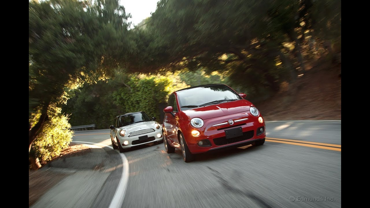 2012 Fiat 500 Vs 2011 Mini Cooper Comparison Test