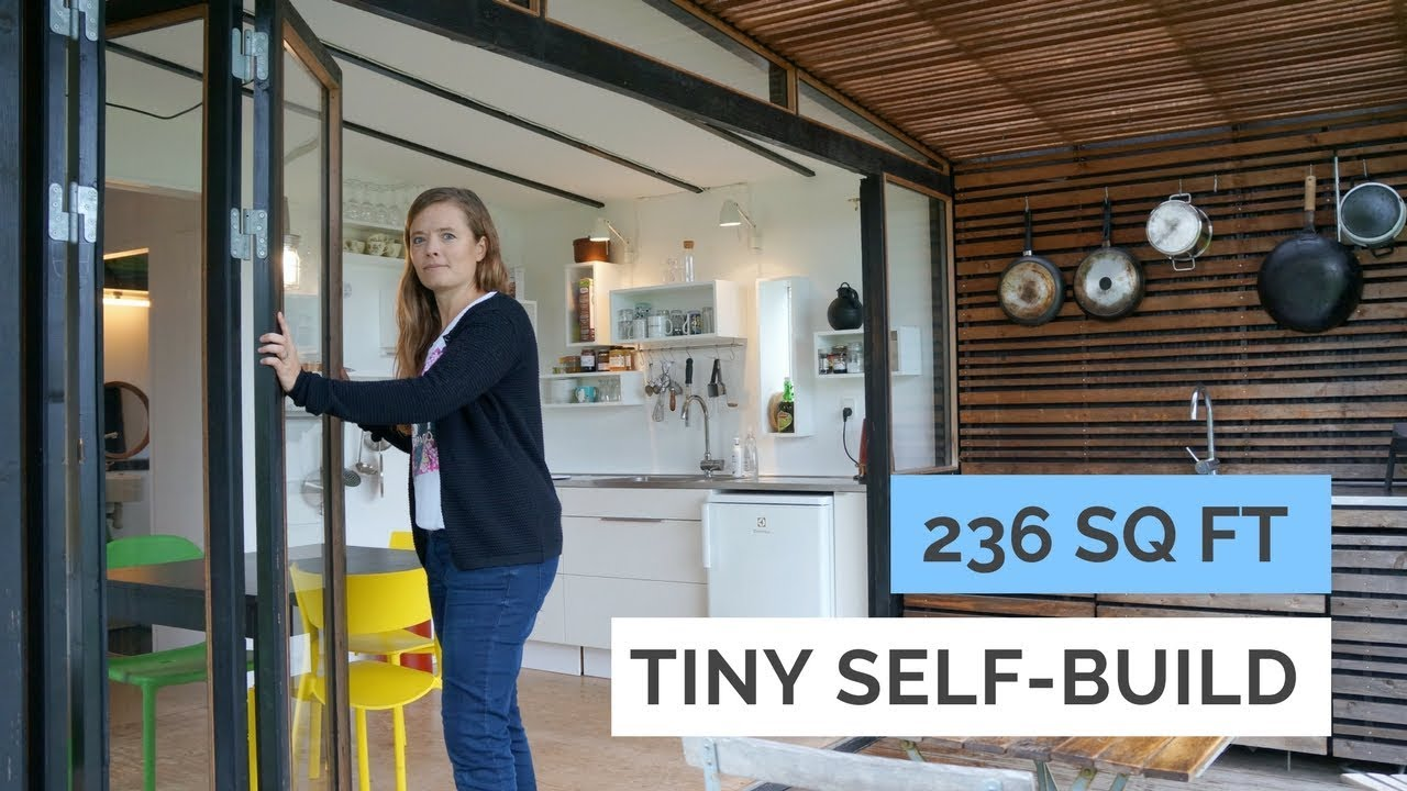 Family Of 4 In 236 Sq Ft Modern Tiny House Architects