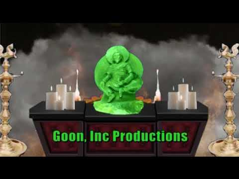 Goon Inc Productions Classic Indian Styled Logo