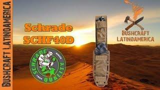 Cuchillo de Supervivencia SCHF40D de Schrade