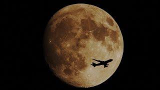 久しぶりの秋晴れの空に浮かぶお月様がきれいだったので撮影していると...