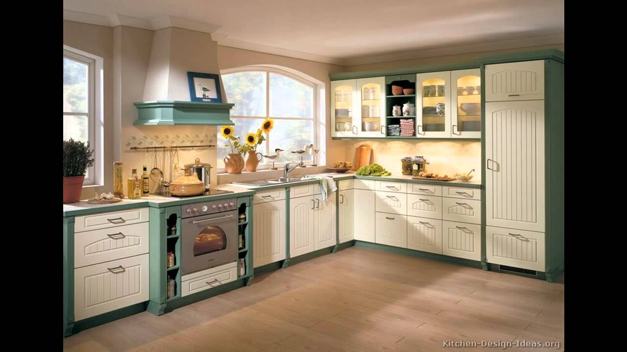 Two Tone Painted Kitchen Cabinet Ideas Entrancing Awesome Two Tone Kitchen Cabinets Ideas  Youtube Decorating Design