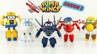 Super Wings Flèche Chace Saison 2 Complète Nouveaux Personnages Jouets Review 출동슈퍼윙스 신제품 장난감 - 비행기