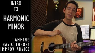 Getting Started with Harmonic Minor-Leads and Jamming [GUITAR LESSON / MUSIC THEORY]