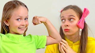 Детская песня - Кто чемпион | Песни для детей от Майи и Маши