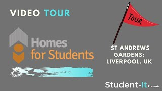 St Andrews Gardens - Student Accommodation in Liverpool: Accommodation Tour