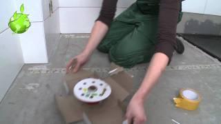 Quickheat-Floor Flex installatie in Badkamer