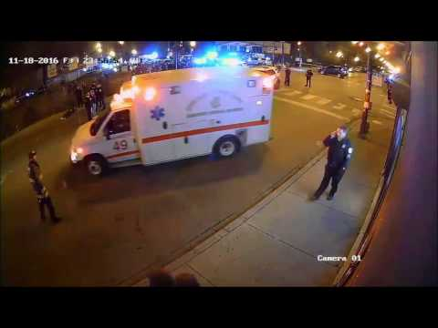 Chicago Police Shooting with Audio
