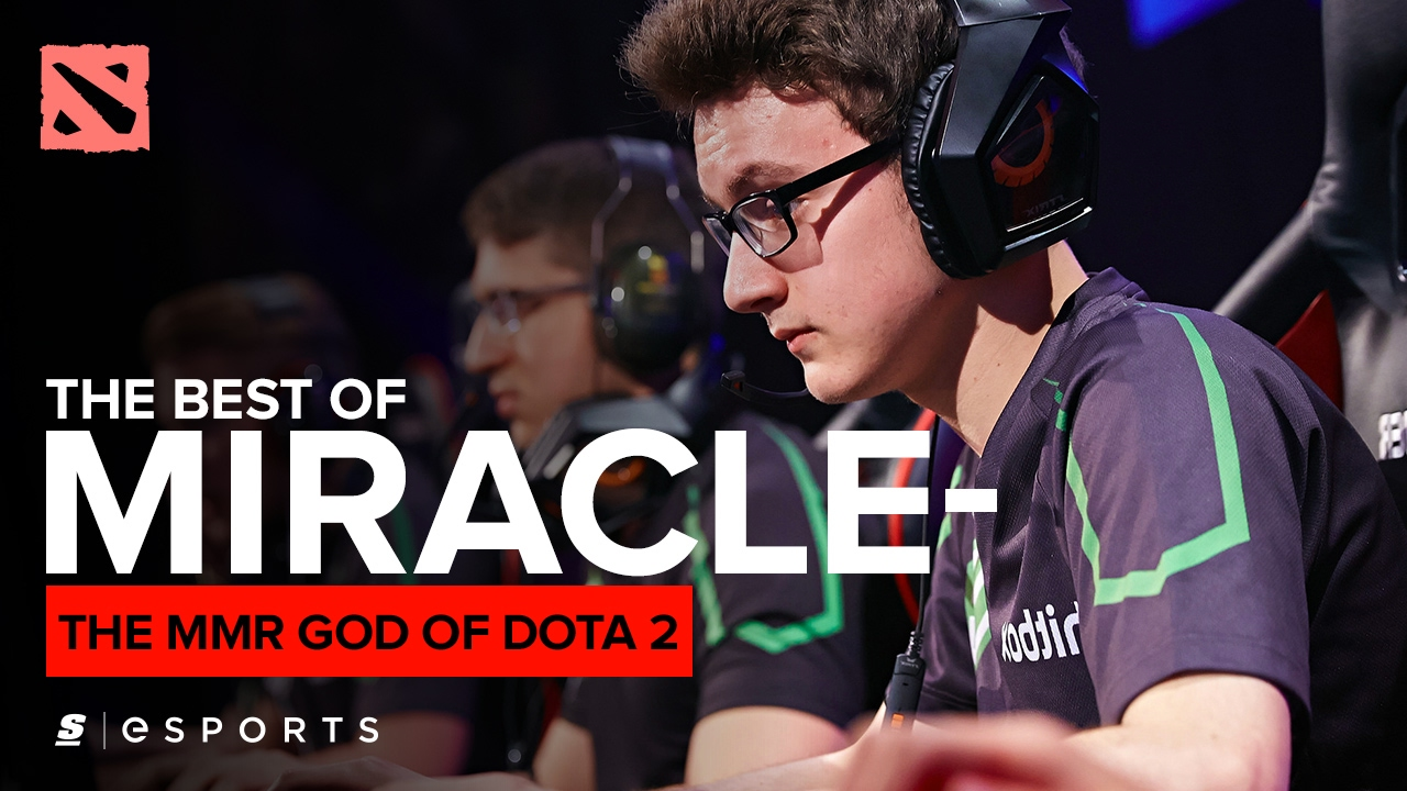 The Best Of Miracle The Mmr God Of Dota