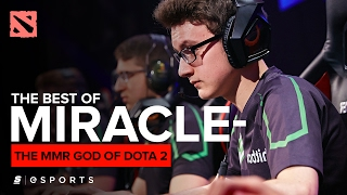 The BEST of Miracle-: The MMR God of Dota 2