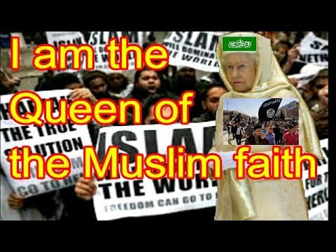 Illuminati Queen Elizabeth is head of the Islamic faith according to BBC Arabic TV. WOW !!!