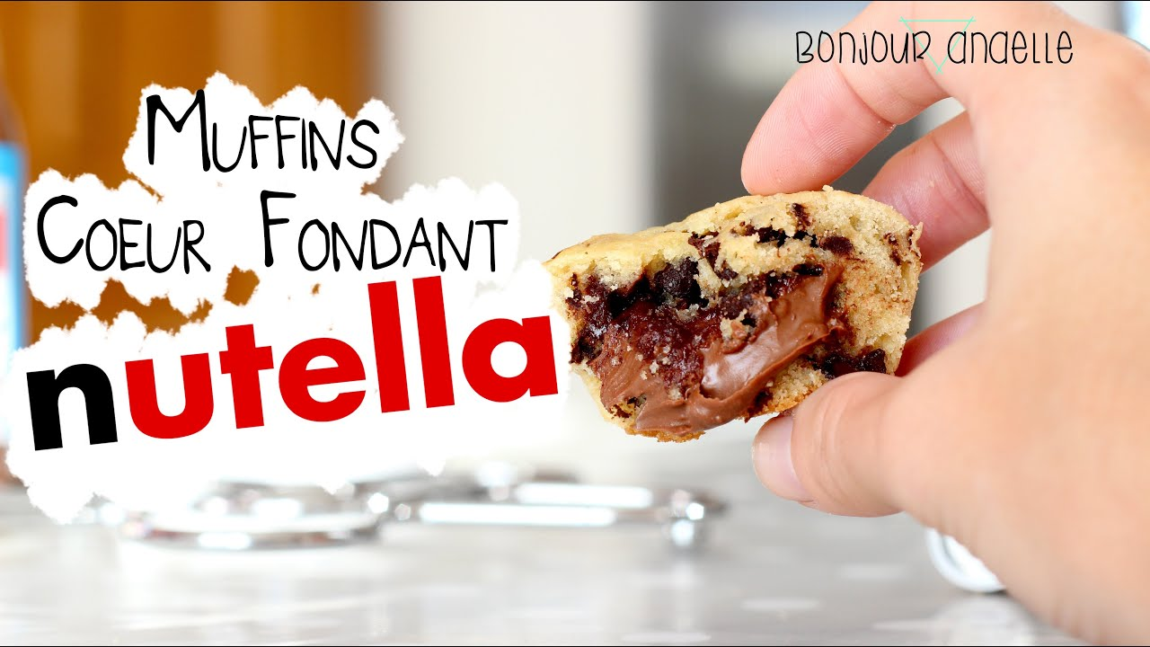 comment faire des muffins au nutella recette facile p te muffins sans lait youtube. Black Bedroom Furniture Sets. Home Design Ideas
