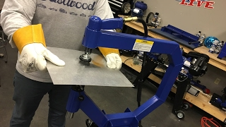 Metal Shaping & Fabrication - How To Use a Planishing Hammer - Eastwood