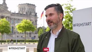 Fabio De Masi, DIE LINKE, im N-TV-Frühstart am 30.07.2020