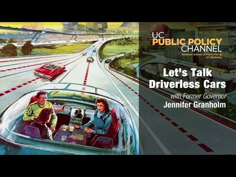 Are RobotsGoing to Hurt or Help? Let's Talk Driverless Cars with Jennifer Granholm