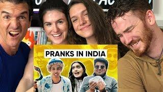Pranks In India | Why Pranks Don't Work In India | Jordindian REACTION!!