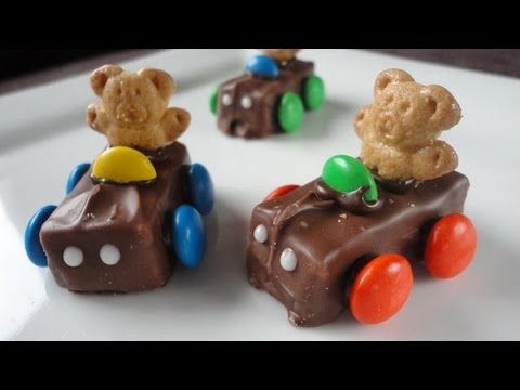 Teddy Graham Race Cars!!